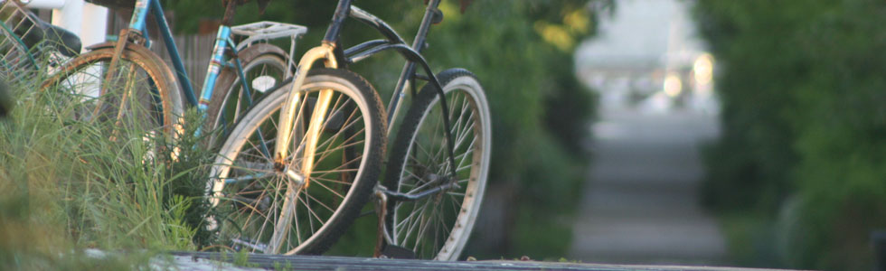 Scenes from Fire Island: Bicycles