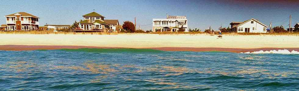 Scenes from Fire Island: Oceanfront Houses